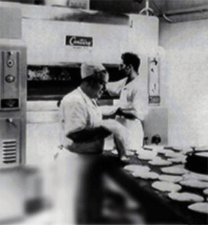 Black and white Venice Bakery History Photo
