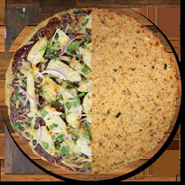 Keto Cauliflower and Truffle Pizza Crust