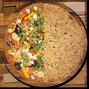 Keto Zucchini and Parmesan Pizza Crust