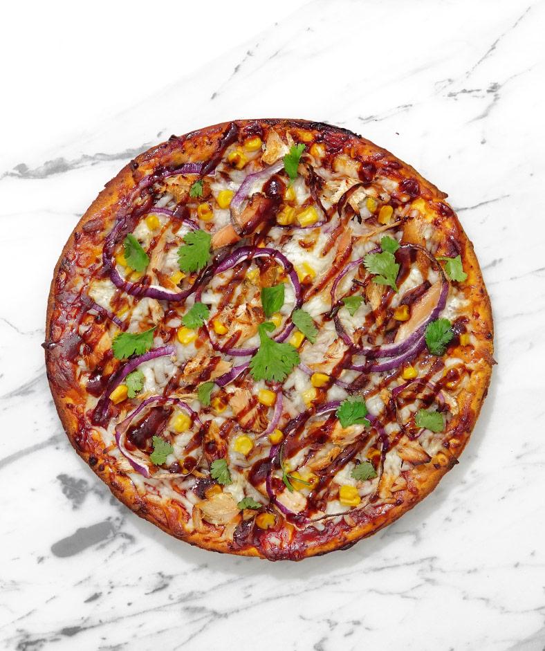 Sweet Potato BBQ Pizza